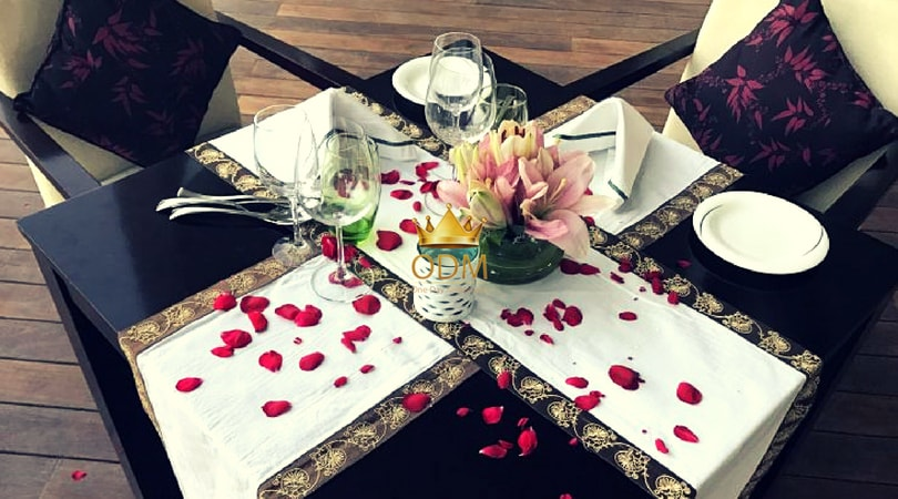 Candlelight dinner in delhi private Experience Private