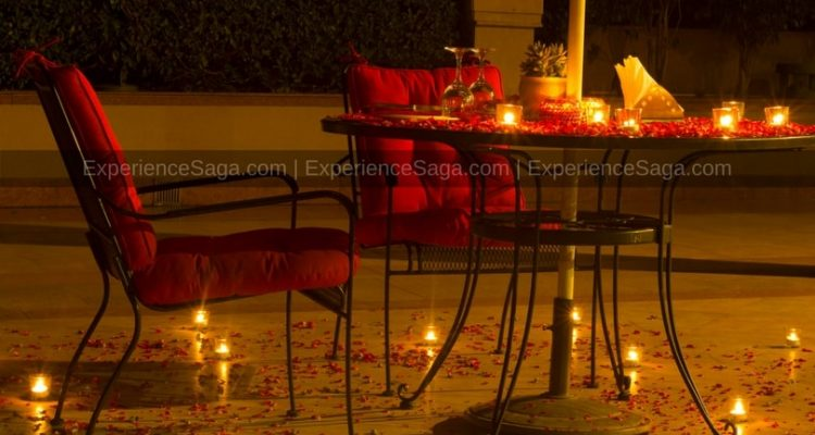 Rooftop Candlelight Dinner Lutyens Resort