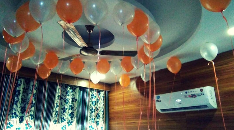 Balloon Surprise At Home Delhi Ncr