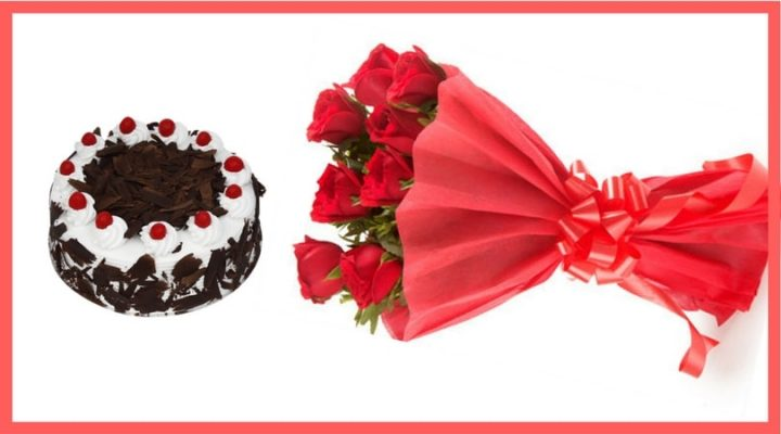 cake bouquet delivery in Delhi