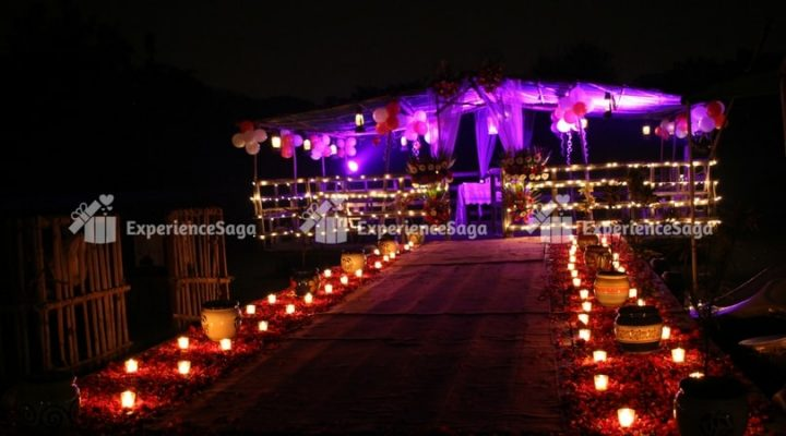 Private Candlelight Dinner in lake delhi