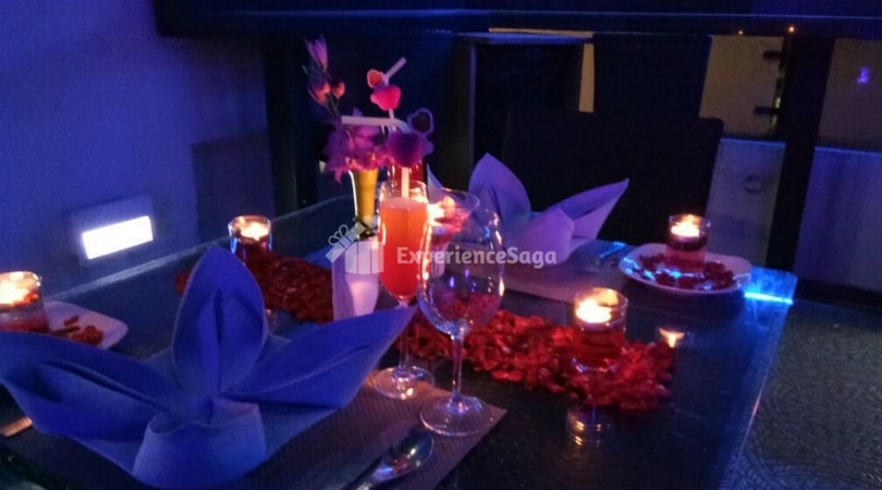 rooftop candlelight dinner in bangalore