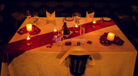 candlelight dinner at shebistan bangalore