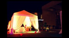 cabana candlelight dinner at taj vivanta