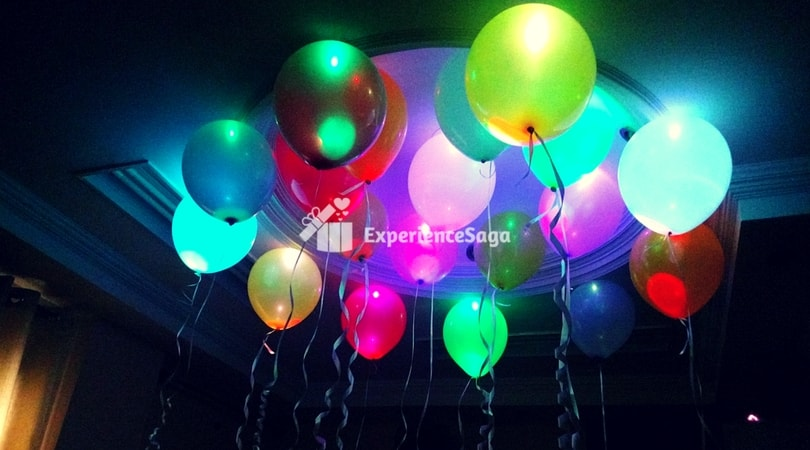 LED Balloon Decoration at Home, Delhi/ NCR- Rs. 1800 on
