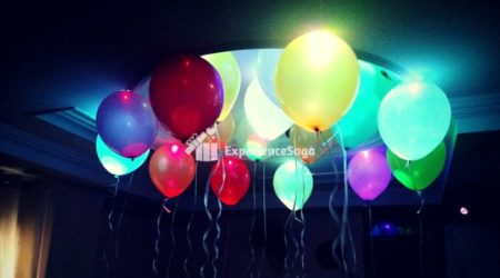 led balloon decoration delhi
