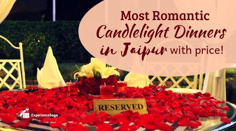 most romantic candlelight dinners in Jaipur