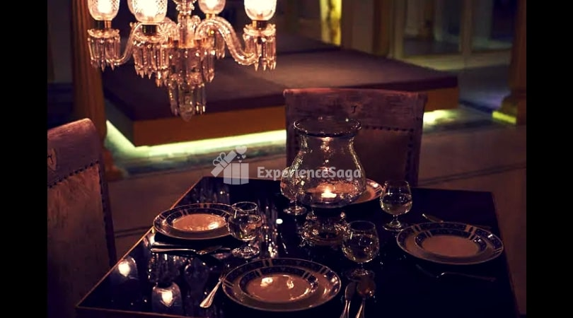 romantic candlelight dinner in mg road, bangalore