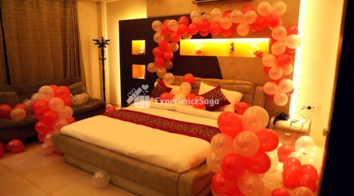 Book Oyo Room With Decoration For Celebration Decorated Oyo Room