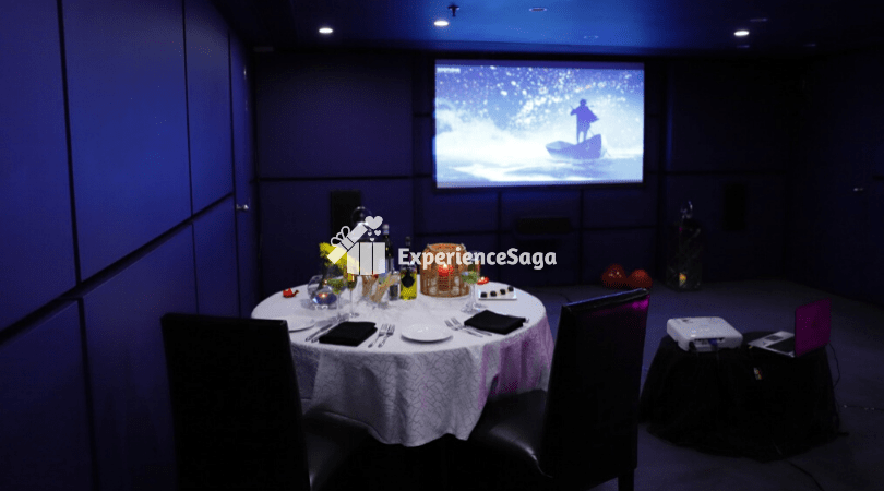 Private Movie Candlelight Dinner The Park Bengaluru
