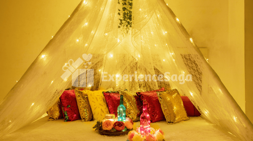Candlelight Dinner with Movie for Couples, Jaipur | Book Online on ExperienceSaga.com